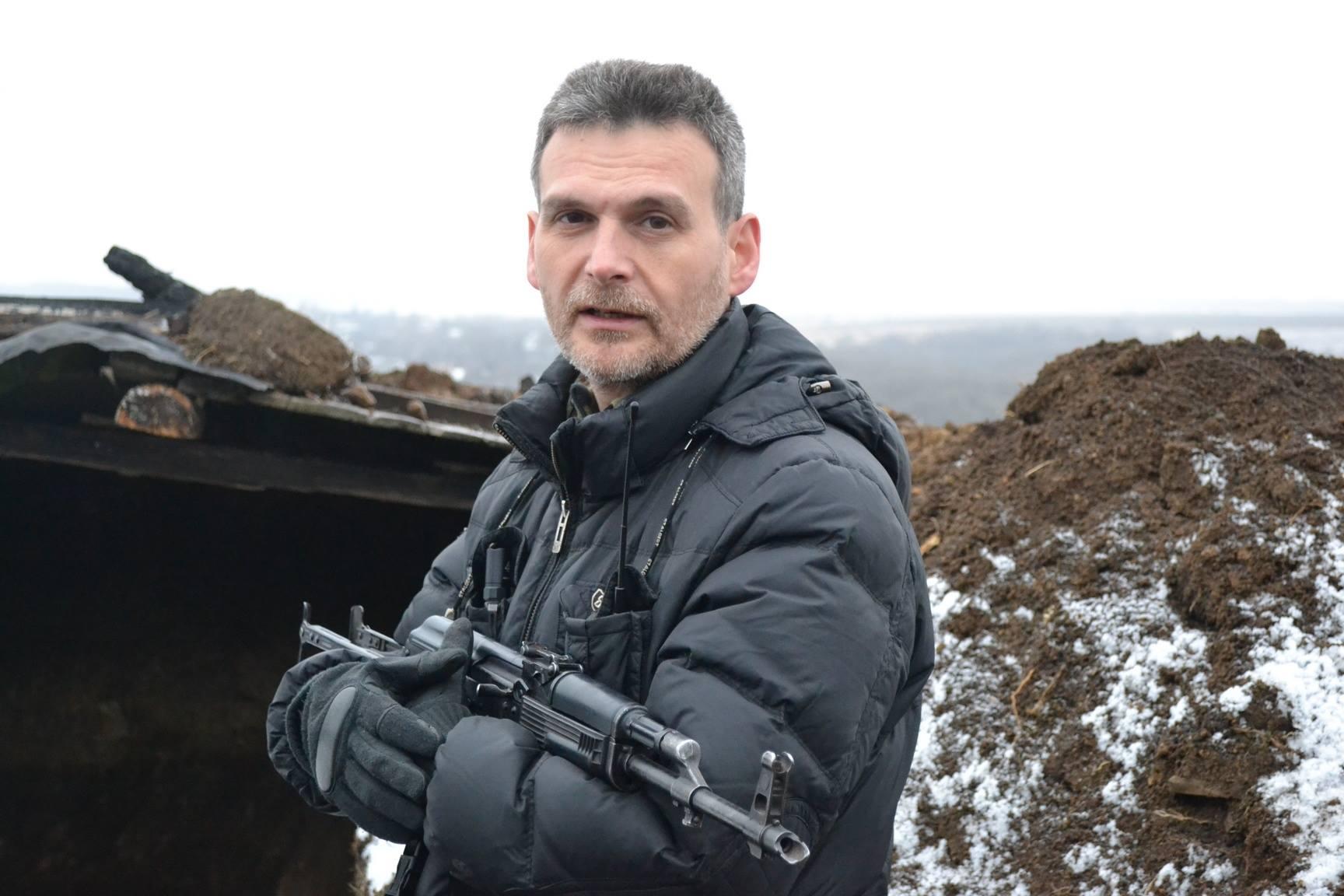 Комбат батальона «Призрак» Алексей Марков