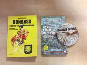 Книги и диски с песнями о борьбе народа Донбасса распространяют в Италии коммунисты и профсоюзные активисты.