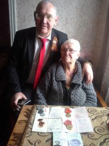 Фото на память. Живая история. Александра Антипова и Борис Литвинов.