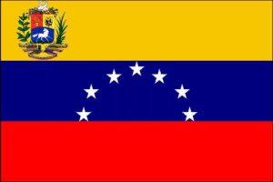 Государственный флаг Боливарианской Республики Венесуэла.