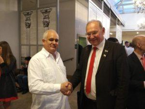 Борис Литвинов и Посол Республики Куба Эмилио Лосада Гарсия