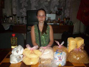 Старшая дочь семьи Осиченко - Ангелина
